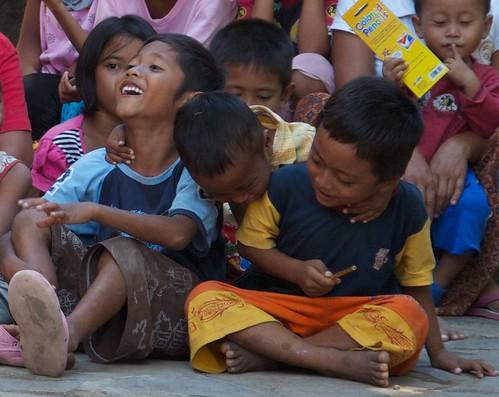 Pujut kids.  Central Lombok, Indonesia 2010