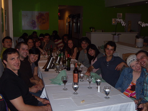 Xavi's Birthday Dinner