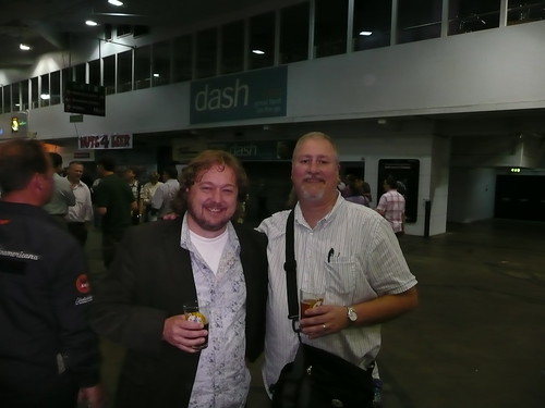 Pete Brown and me at GBBF