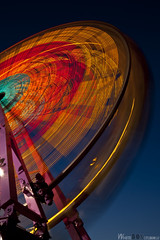 The wheel (Smackthatbird) Tags: longexposure light motion wheel night canon franklin virginia crazy cool movement ride fairs awesome fair kinetic roanoke ferriswheel rides salem rockymount ferriswheels 550d t2i