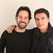 Paul Rudd and Andres Useche 2