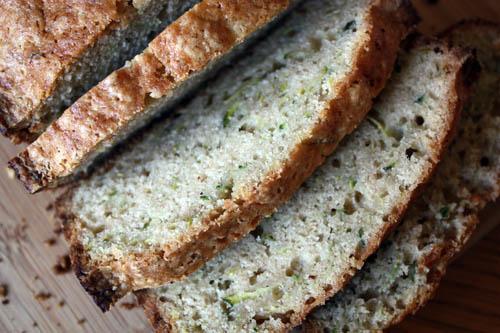 mom's zucchini bread.