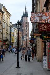 In der Altstadt von Krakau