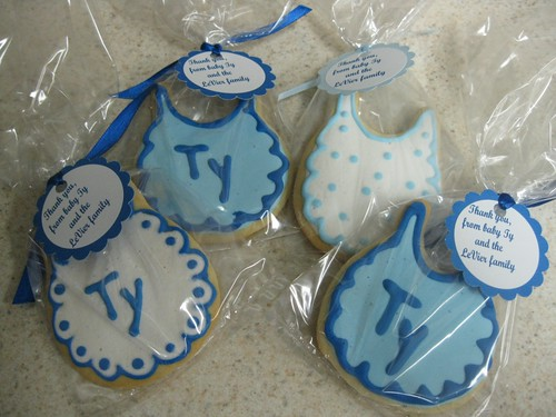 Ty's baby shower cookies 3