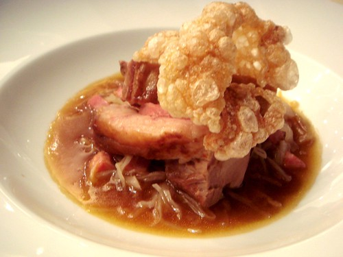 28-50 Wine Workshop and Kitchen - Pork Belly with Braised Cabbage