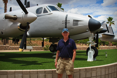 my dad and his plane