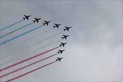 Air Force ~ Patrouille de France ~ National Day ~ 14 Juillet ~ Paris ~ MjYj (MjYj) Tags: paris republic louvre nation celebrations airforce ruler 14juillet nationalday sine patronsaint pontsdesarts nationhood img8212 symbolized mjyj mjyj sovereigncountry dateofindependence