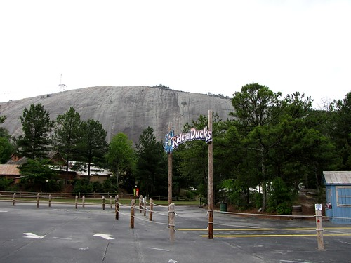 Arriving at Stone Mountain