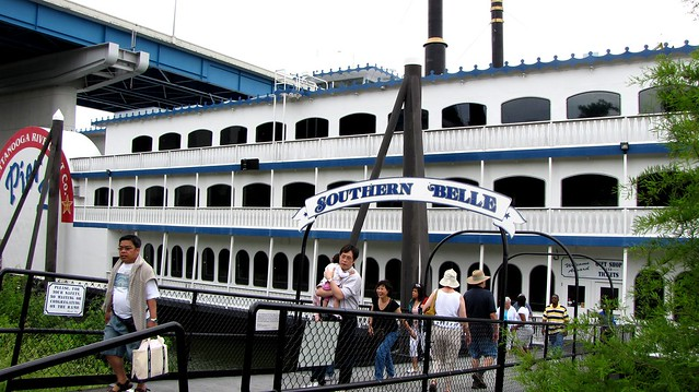 Entering the Southern Belle