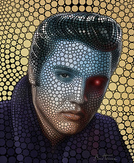 Elvis Presley (Ben Heine) Tags: wallpaper portrait musician copyright music usa shop blackbackground mississippi poster robot concert poem guitar memphis tennessee contemporaryart famous country piano machine elvis blues voice pop popart idol rockabilly prints actor redeye portfolio terminator deco legend songs theking gospel rockandroll hounddog vibration tupelo chanteur elvispresley suspiciousminds returntosender sexsymbol highquality drugabuse lovingyou buyart lovemetender tragicdeath romanticman areyoulonesometonight affordableart dontbecruel culturalicon itsnowornever benheine buyartprints diasec iforgottoremembertoforget benheineart iwantyouineedyouiloveyou digitalcirclism benheinecom popularamericansinger elviscom medicalcrises elvispresleyposters