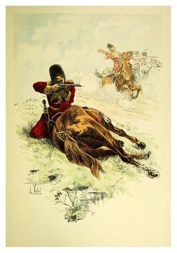 032-Circasiano del Escuadron del Zar-Le chic à cheval histoire pittoresque de l'équitation 1891- Louis Vallet