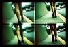 Sigue caminando... (Er!ka) Tags: film girl 35mm lomo lomografía lomography procesocruzado chica legs walk venezuela caracas niña crossprocessing caminar actionsampler piernas película