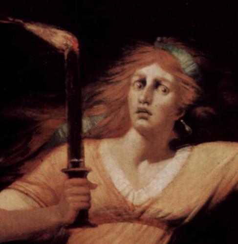 Füssli_détail2 Lady Macbeth Somnambule