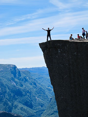 "Preikestolen ""The Preacher's Pulpit"" - N by virtualwayfarer, on Flickr"