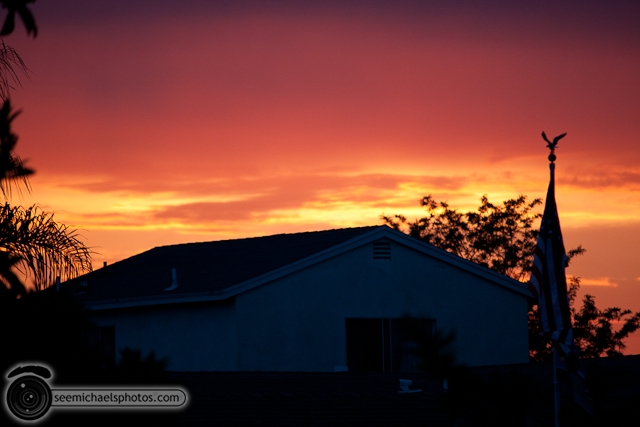 Backyard Sunset 71510 © Michael Klayman-007