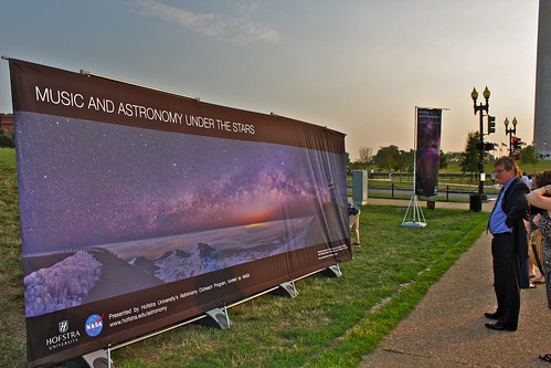 Music and Astronomy under the stars