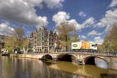 Sligro (Jan Kranendonk) Tags: bridge holland amsterdam truck canal brug vrachtauto
