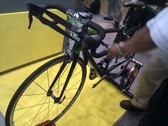 センサー自転車@ワイアレスジャパン