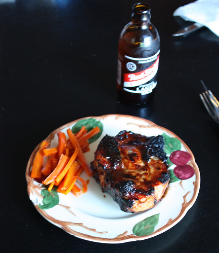 BBQ Pork and Carrots