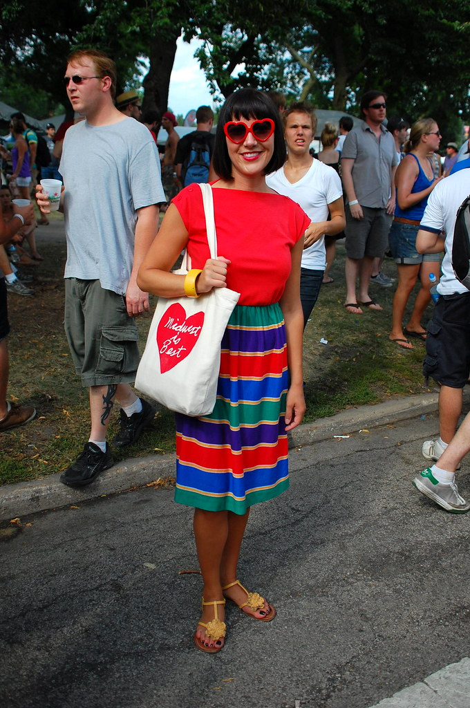Pitchfork Festival Fashion Chicago Street Style