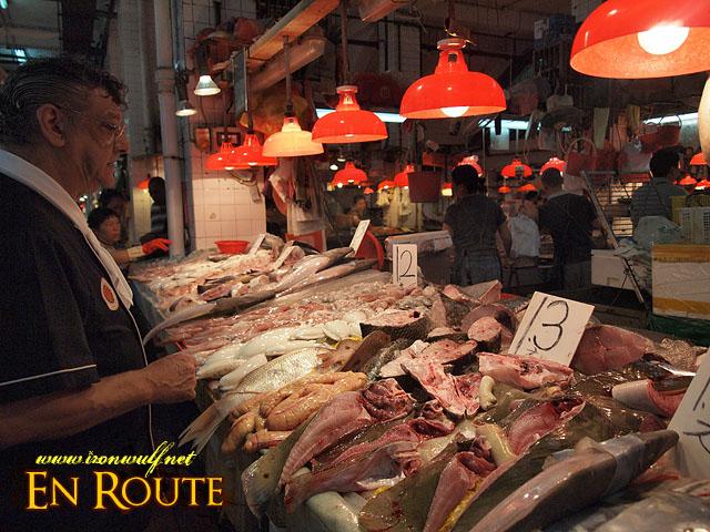 Antonio Coelho shopping inside the Macau Red Market
