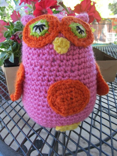 Pinky Lee - The Great Owl Crochet-along