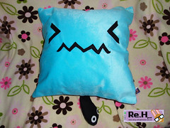 wobbuffet (ReHashimoto) Tags: capa pillow cover pokemon almofada wobbuffet