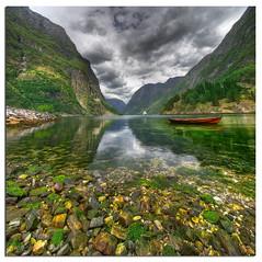Aurlandsfjorden (Mariusz Petelicki) Tags: norway norge fiord hdr aurland 3xp norwegia aurlandsfjord sognefiord vertorama mariuszpetelicki