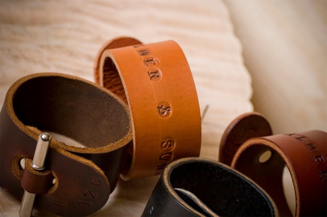 Palmer & Sons Leather Cuffs No 12c 03