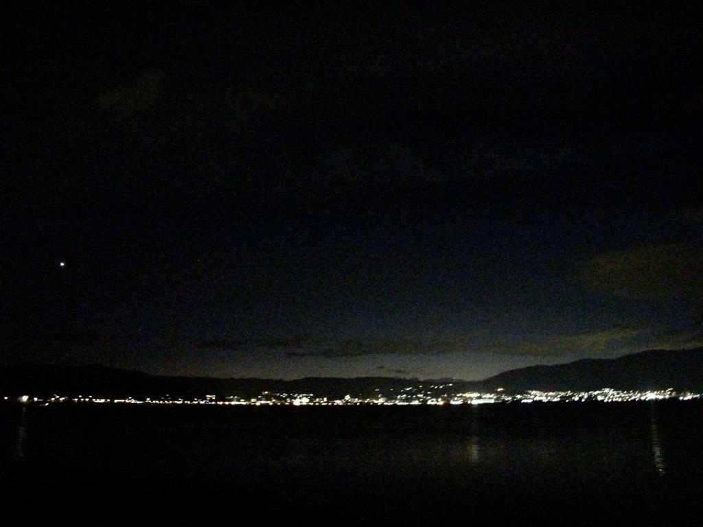 上諏訪の夜景