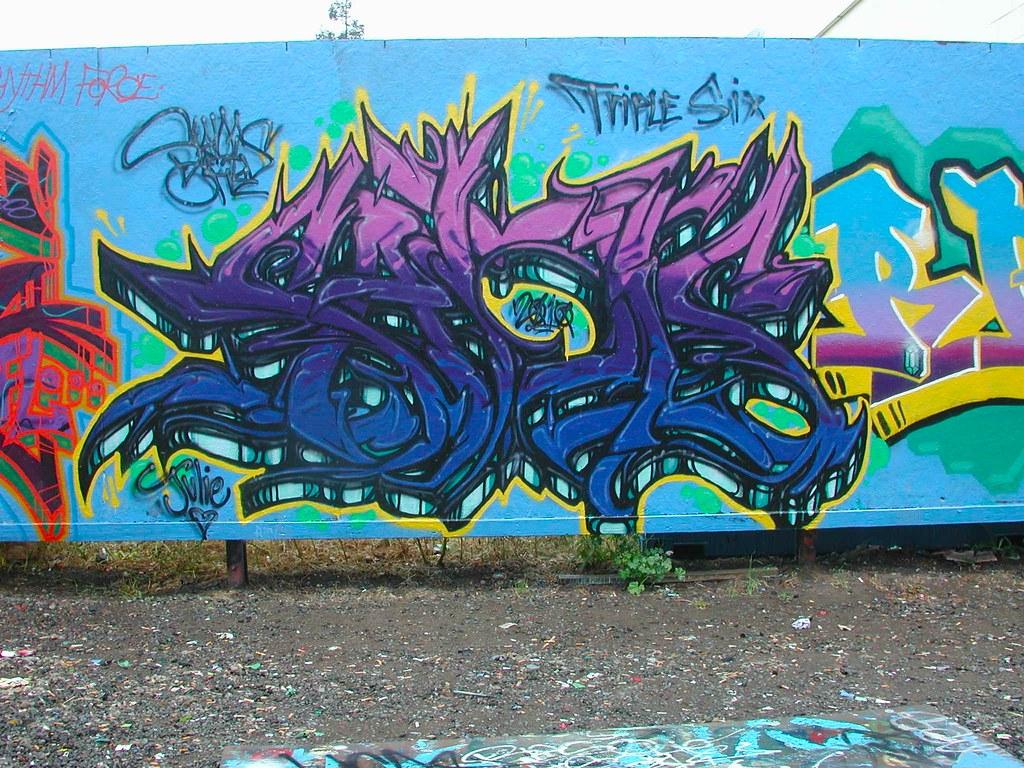 SADIS, 666, Petaluma, Graffiti, free wall