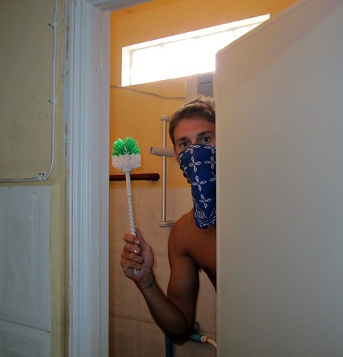 Greg Deep Cleaning Bathroom
