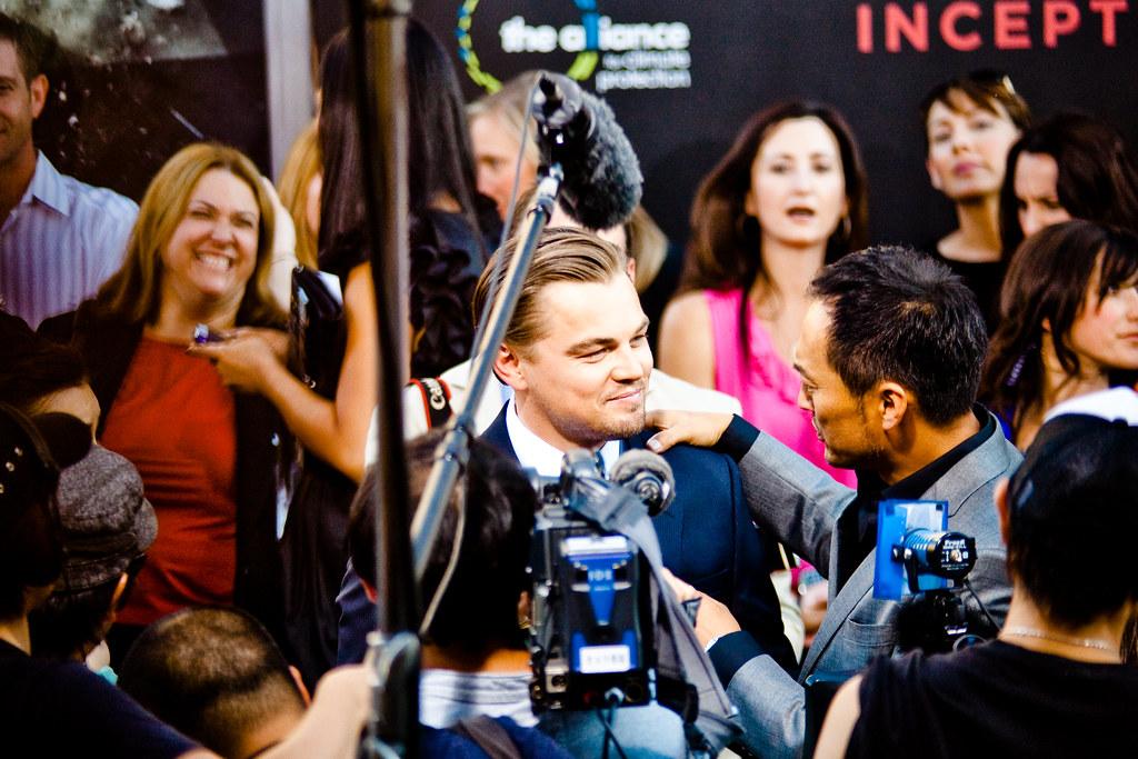Leonardo DiCaprio & Ken Watanabe