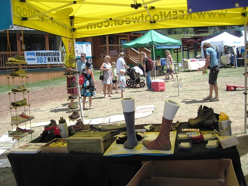 KEEN Booth at Grand Targhee Music Fest