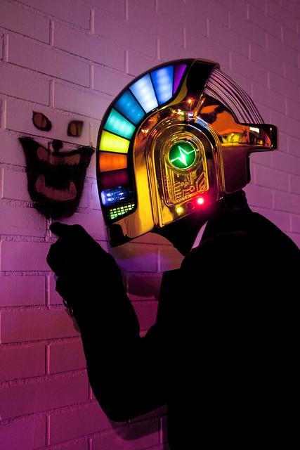 volpin props : Daft Punk Helmet 4816797822_749d7de768_z