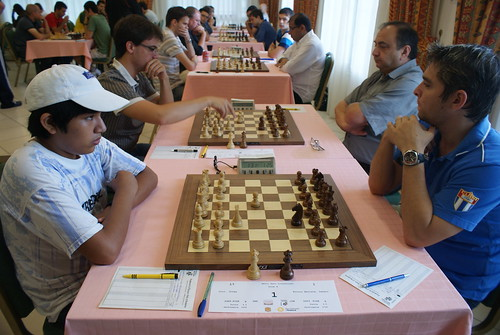 Jorge Cori (PER) vs Lazaro Bruzón (CUB)