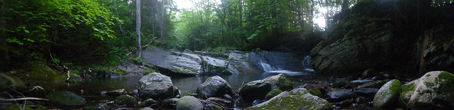 AT stream panorama