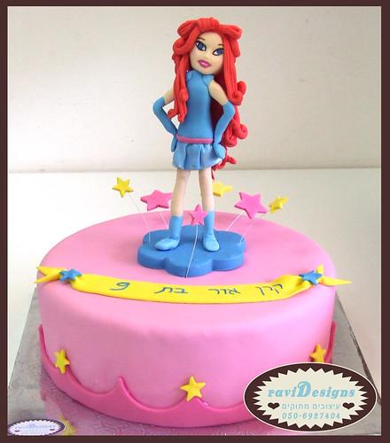 Bloom winx cake ~ עוגת בלום מווינקס