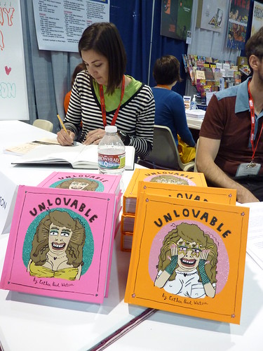 Esther Pearl Watson & Unlovable at Fantagraphics, Comic-Con 2010
