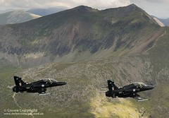 RAF Hawk T2 Fast Jet Trainer Aircraft over Wales (Defence Images) Tags: plane unitedkingdom hawk aircraft military jet equipment mk2 british defense defence trainer raf t2 holyhead royalairforce isleofanglesey