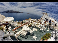 226/365 - HDR - Oia.Santorini.@.1200x800 (Pawel Tomaszewicz) Tags: camera new blue light shadow sea sky cloud holiday fish streets color eye water colors clouds canon lens island greek photography eos volcano islands photo high foto view creative kreta hobby fisheye atlantis santorini greece caldera crete definition fotografia greekislands range hdr oia cyclades aparat pawel wakacje  kriti architektura morze  chmury niebo chmura grecja   odpoczynek kyklades wyspa  kaldera 400d wyspy 1200x800 fotografowie polscy cyklady atlantyda bkitne  tomaszewicz