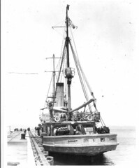 USS Gannet AM-41 (San Diego Air & Space Museum Archives) Tags: history military ships navy naval uss gannet minesweeper sdasm am41 ships01498