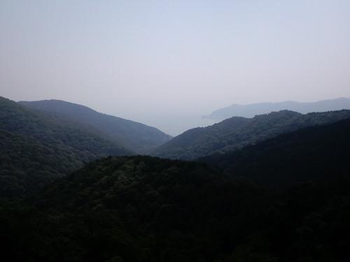 山伏峠からの眺め