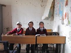 Likir school students (JonnyConga) Tags: india mountains trekking leh himalayas ladakh
