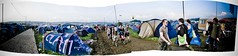 Tents 1000's of them (catfordCelt) Tags: panorama photoshopped glastonbury glastonburyfestival glasto panarama pilton worthyfarm glastonbury2009 glasto2009