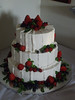 Fresh Berries & Mint Wedding Cake