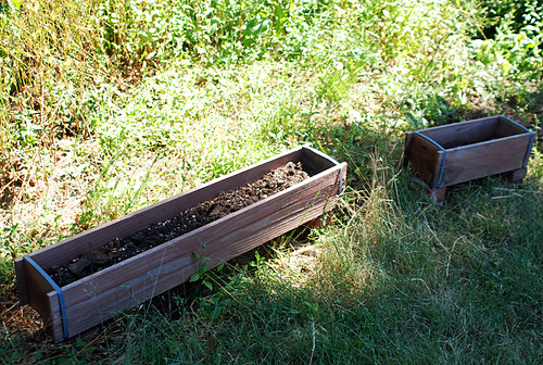 extra narrow raised beds