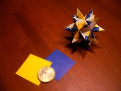 Stella Bascetta (Foglienere) Tags: star origami modular bascetta