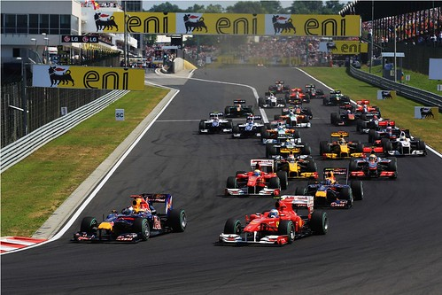 GP da Hungria 2010 - Largada