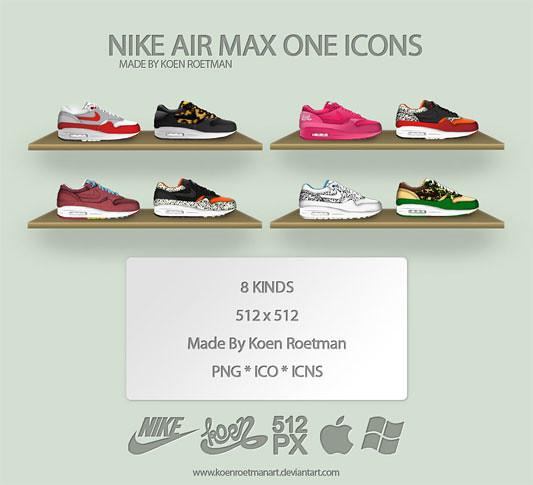 nike air max one icons